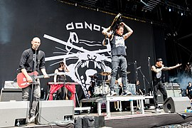 Donots bei Rock am Ring 2017