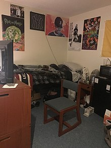 Dorm Room At Hilltop House At Hartwick College