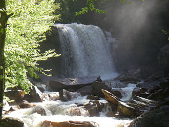 Monongahela National Forest - Douglas Falls on the North Fork Blackwater River