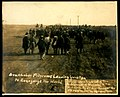 Doukhobor pilgrims leaving Yorkton to evangelize the world (HS85-10-13523).jpg
