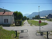 Photographie de la piste cyclable.