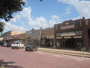 Post, Texas - Image: Downtown Post, TX IMG 4623