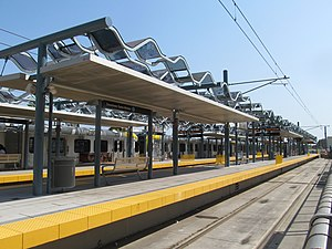 Downtown Santa Monica station, July 2017.JPG