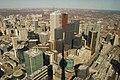 Downtown Toronto with CN Tower Shadow - panoramio.jpg