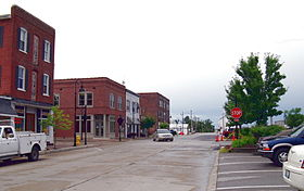 Downtown de Wentzville en 2009.