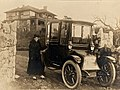 Dr. Evlyn Farris and her Electric Car in 1919 (7126943085).jpg
