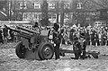 Drakestein, oefening door Gele Rijders met kanon, Bestanddeelnr 920-2178.jpg