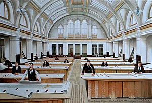 Draughting Office Harland & Wolff, Belfast by Karl Beutel 2009.jpg