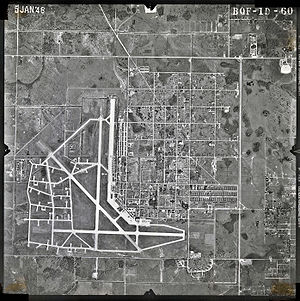 Tampa International Airport - Drew Field in 1948