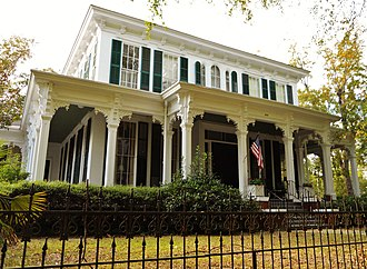 National Register of Historic Places listings in Barbour County, Alabama - Image: Drewry Mitchell Moorer House Eufaula Alabama