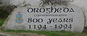 Drogheda - Commemoration of Official Charter