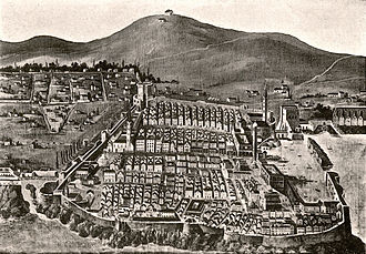 Republic of Ragusa - Dubrovnik before the 1667 earthquake, Photogravure Kowalczyk 1909