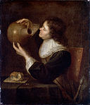 Dutch - Soldier looking into a Jug - Google Art Project.jpg