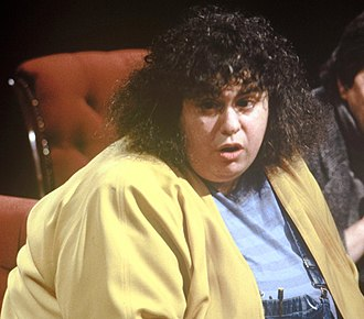 Andrea Dworkin - Dworkin appearing on British television discussion programme After Dark in May 1988