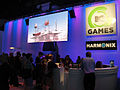 E3 2010 Harmonix MTV Games booth featuring Rockband 3.jpg
