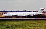 EI-CCU BAC1-11 Ryanair LTN Aug '91 (28582480920).jpg