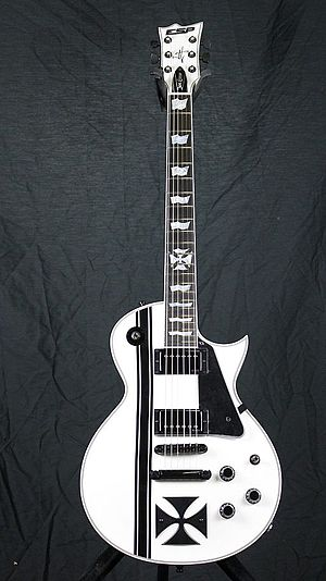 "ESP Guitars - ""Iron Cross"" model."