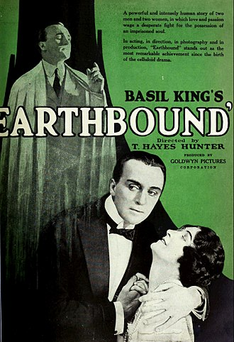 Earthbound (1920 film) - Ad for the film