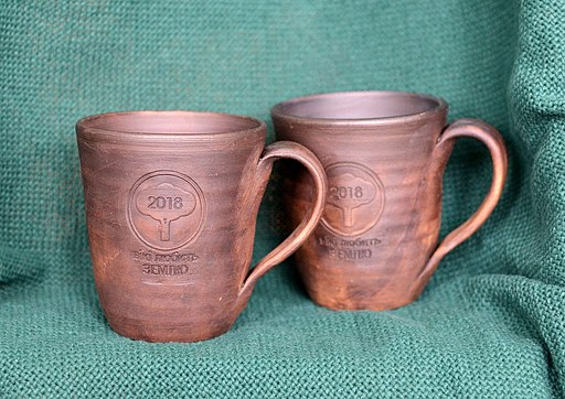 Eco friendly clay cups ukraine