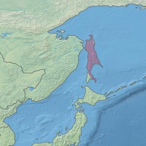 Territorio dell'ecoregione (in viola)