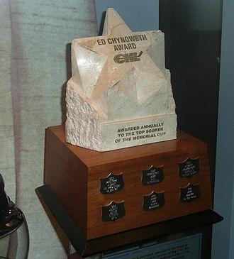 Ed Chynoweth Trophy - Image: Ed Chynoweth Trophy