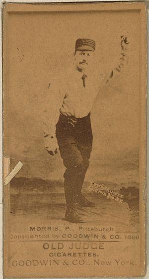 Ed Morris (1880s pitcher) - Image: Ed Morris baseball card