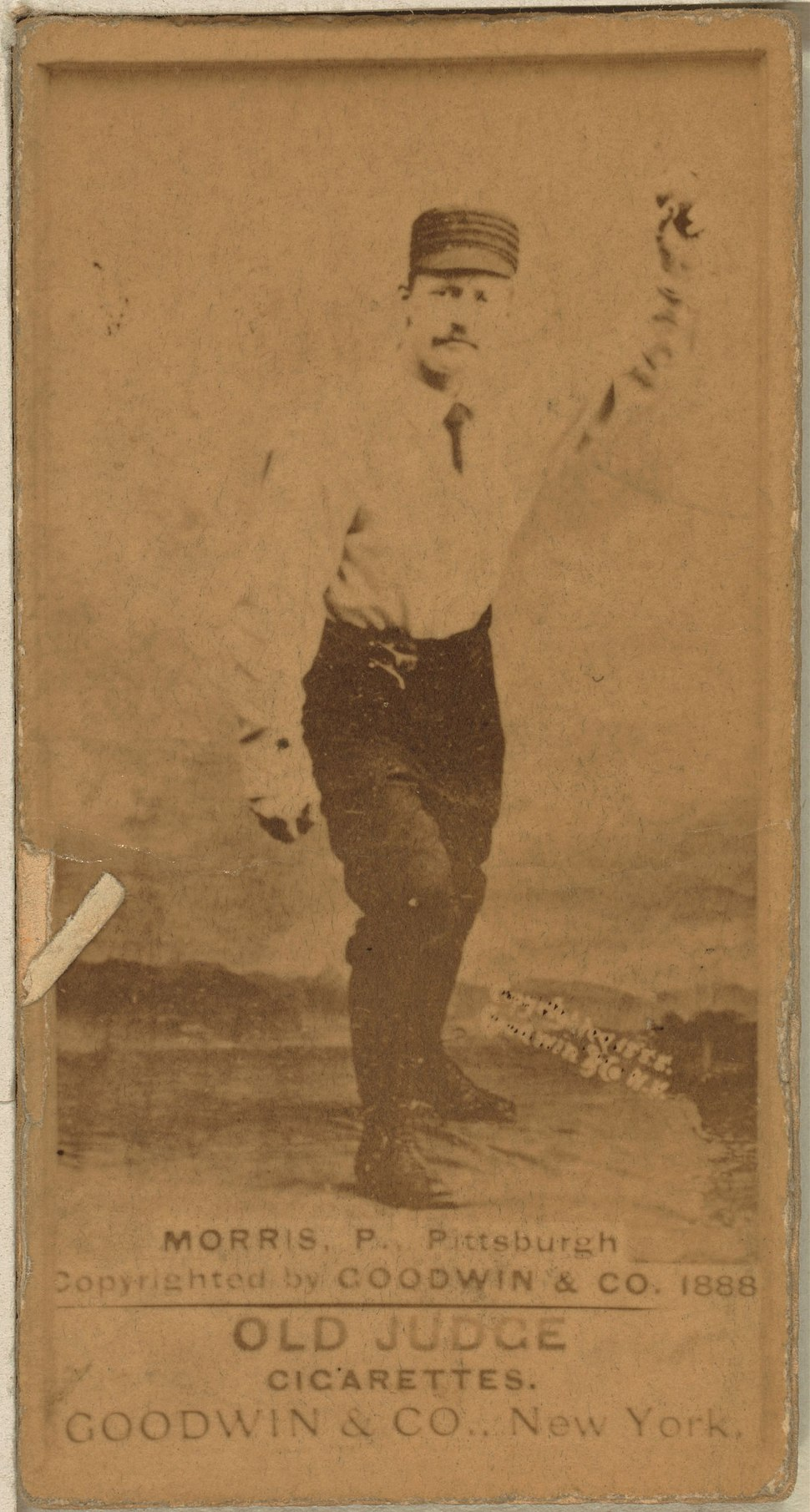 Ed Morris baseball card