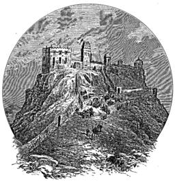 Edinburgh Castle pre-1573