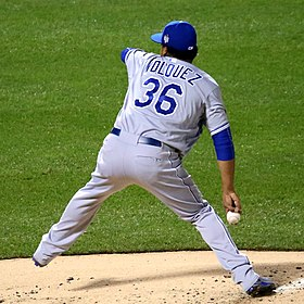 Edinson Volquez on November 1, 2015.jpg