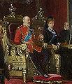 Edward VII Throne at St James's Palace.JPG