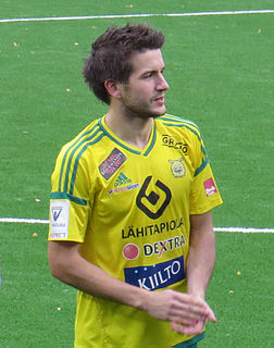 Eero Korte Finnish footballer