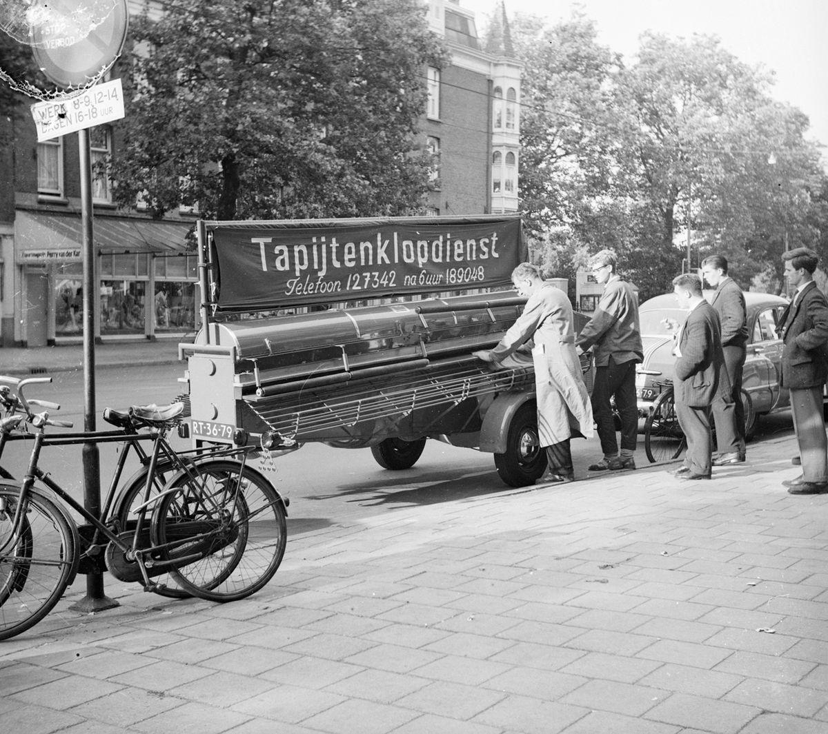 Teppichklopfmaschine – Wikipedia