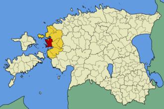 Ridala Parish - Image: Eesti ridala vald
