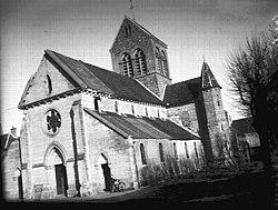 Eglise - Ensemble sud-ouest - Marigny-en-Orxois - Médiathèque de l'architecture et du patrimoine - APMH00027445.jpg