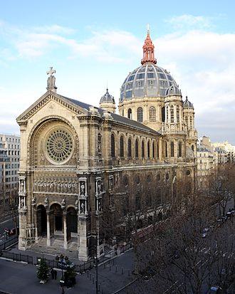 Saint-Augustin, Paris - Image: Eglise Saint Augustin de Paris