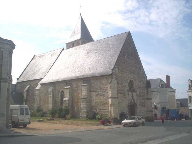 St. Blaise Church (X century) Corné, maine et loire, France