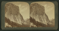 El Capitan,(3300 ft. high), most imposing of granite cliffs, east to Half Dome and Clouds' Rest, Yosemite valley, California, by Underwood & Underwood.png