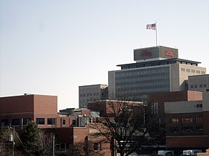 Eli Lilly & Company corporate campus, Feb. 2011