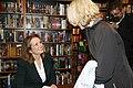 Elizabeth Edwards speaks at Portsmouth Activist Coffee (490192332).jpg