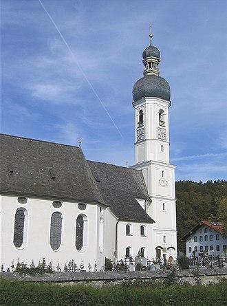 Fischbachau - St andreas Church in Elbach
