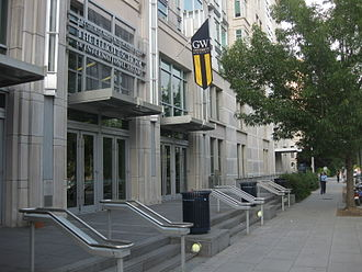 Elliott School of International Affairs - The Elliott School is located across the street from the U.S. Department of State, U.S. Department of the Interior, the American Red Cross headquarters, and the General Services Administration and only blocks away from the White House.