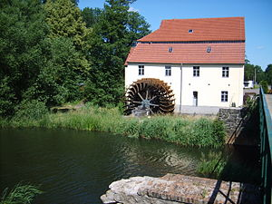 Watermill in Plessa