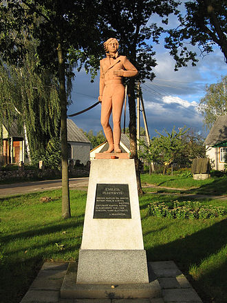 Kapčiamiestis - Emilia Plater Monument