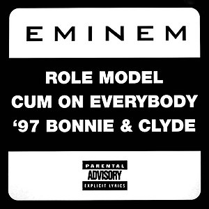 Role Model (song) - Image: Eminem Role Model single CD cover