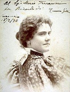 Emma Zilli Italian singer and opera singer