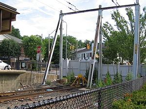 New Canaan Branch - Image: End Of The Line New Canaan Branch 2007