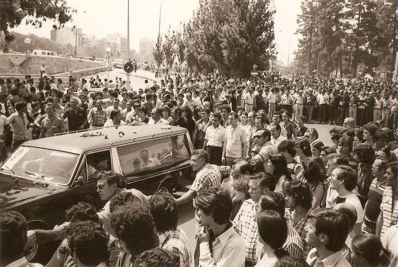 Nuestros mártires en la Transición. 29 de junio, aniversario del asesinato de Valentín González Ramírez
