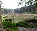 "Entrance gate and information panel ""Grote kweek"" Warnsborn Schaarsbergen - panoramio.jpg"