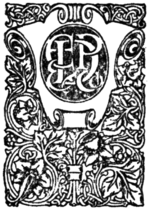 E.P. Dutton Printer's Mark