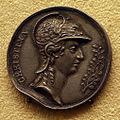 Erich parise, medaglia su virtù e interessi della regina cristina di svezia, 1650-54, 01.JPG